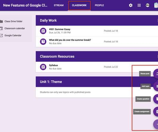 5 Things to Know About the New Google Classroom