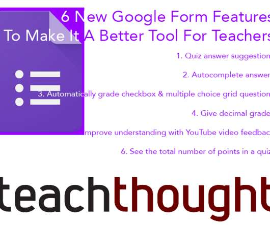 6 New Google Form Features To Make It A Better Tool For Teachers