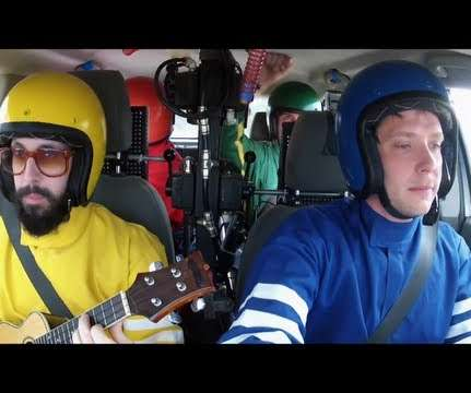This Is So Cool! OK Go Teams Up With Google & Creates Classroom Materials For Their Videos