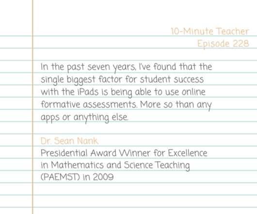Assessment and STEM - EdTech Update