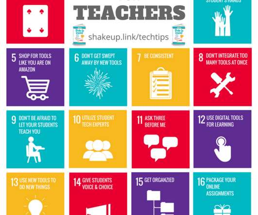 20 Tech Tips to Shake Up Learning