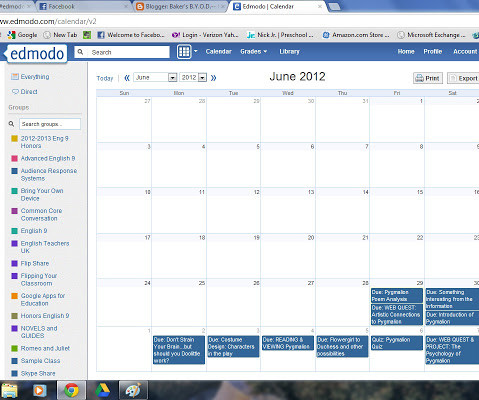 Edmodo and Tablets - EdTech Update